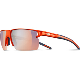 Julbo Outline Zebra Light Lunettes de soleil Homme, fluo orange/blue